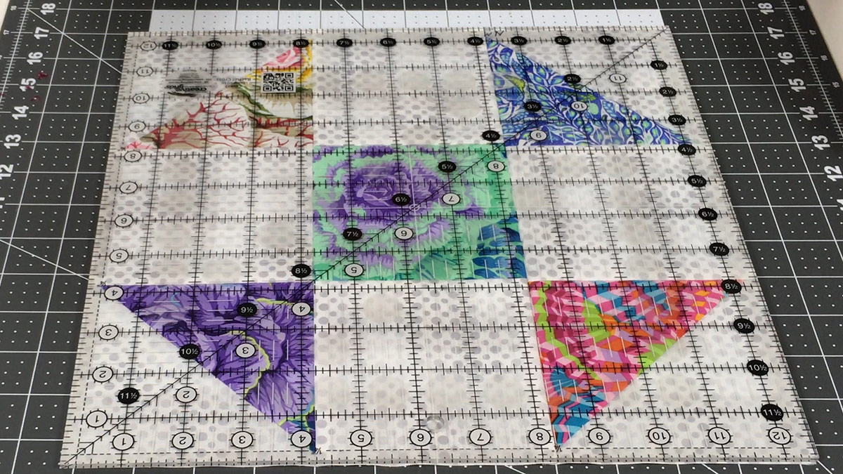 Quilt & Sew Tips: How to Square Up Blocks