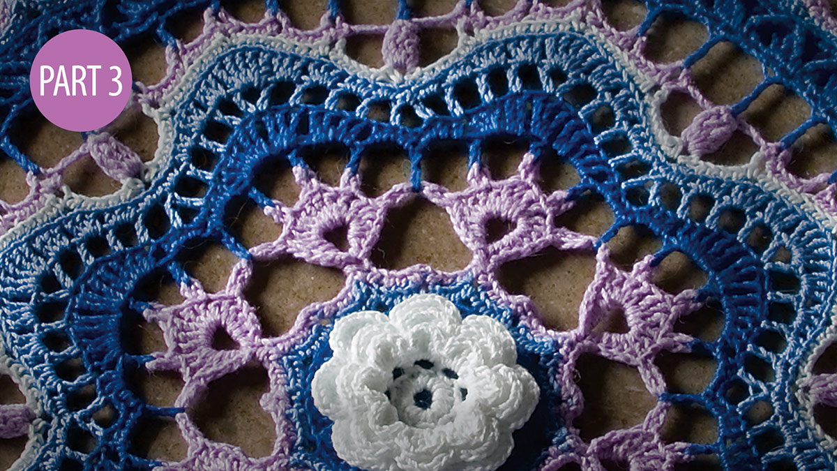 Crochet Skill Builders: Twilight's Touch Doily Crochetalong: Part 3