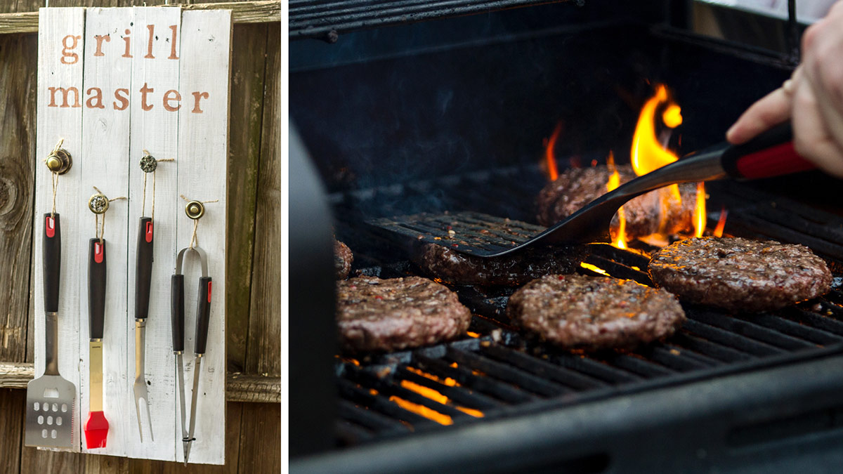 Creative Living: Father's Day Grill Tool Holder