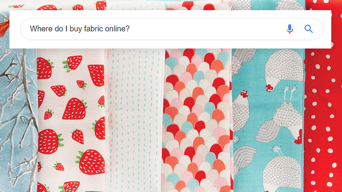 Quilt & Sew Tips: Tips for Buying Fabric Online
