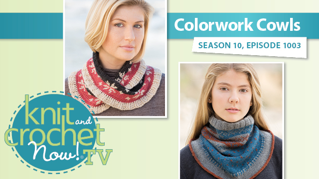 Colorwork Cowls video
