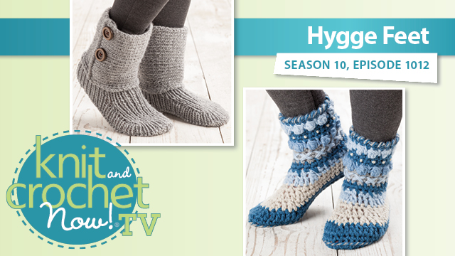 Knit and Crochet Now!: Hygge Feet