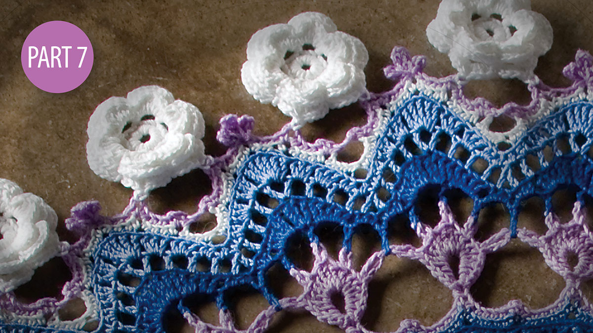 Crochet Skill Builders: Twilight's Touch Doily Crochetalong: Part 7