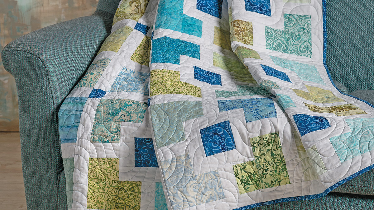 Learn, Make, Create!: Boardwalk Quilt