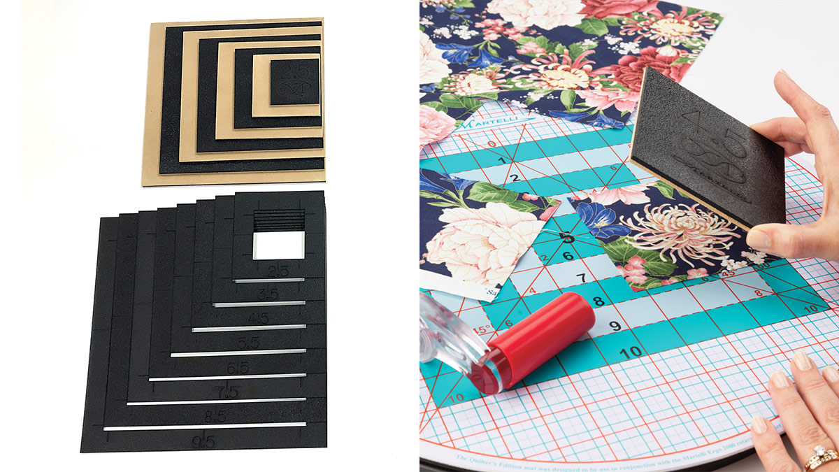 Products We Love: Square Templates & Fussy Cuts