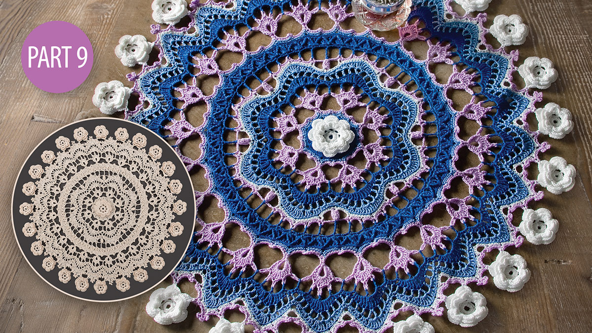 Crochet Skill Builders: Twilight's Touch Doily Crochetalong: Part 9