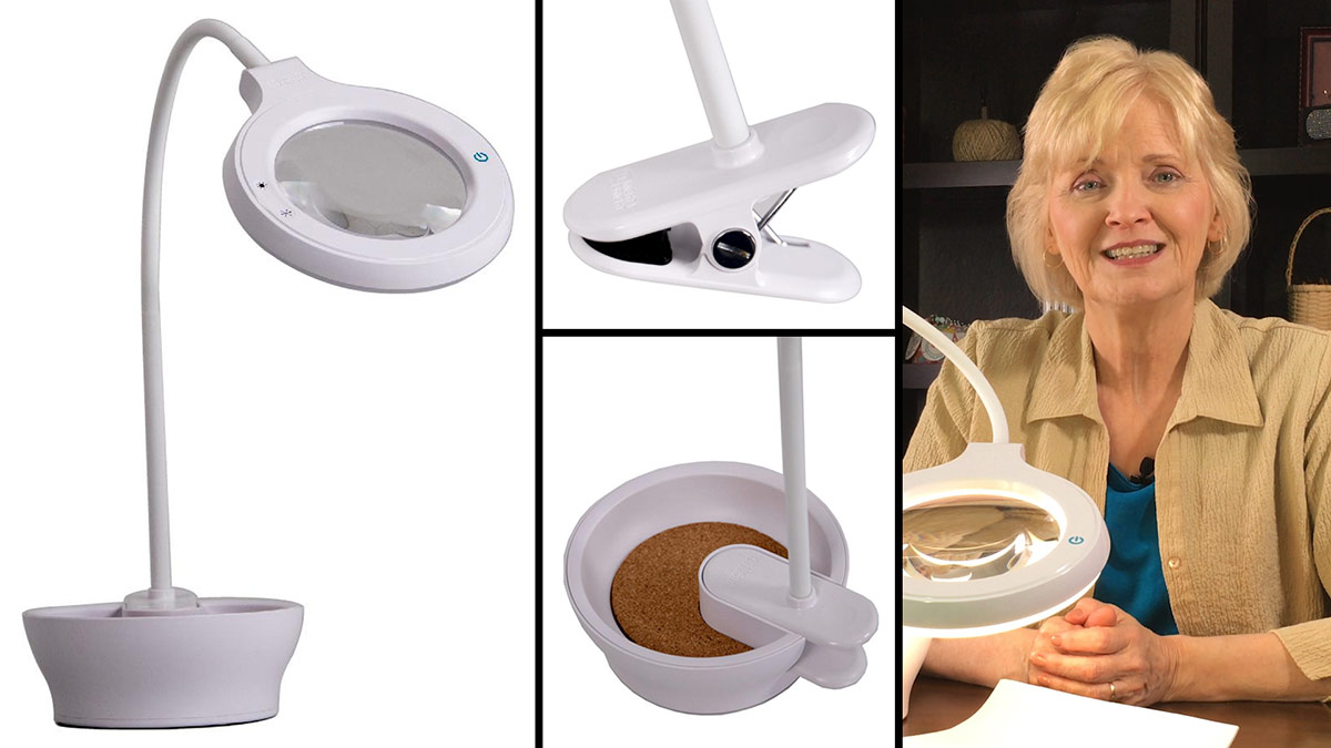 Mighty Bright Task Light & Magnifier video