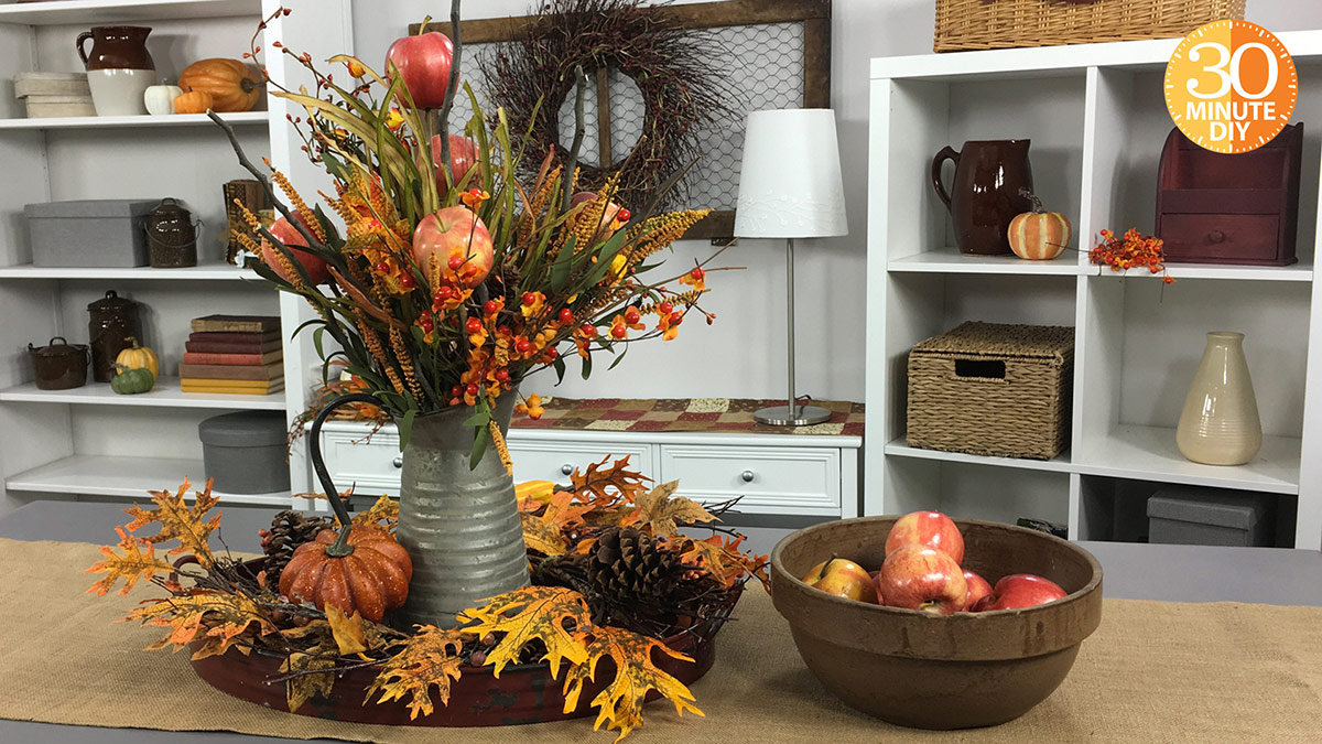 Creative Living: Create a Fall Apple Centerpiece