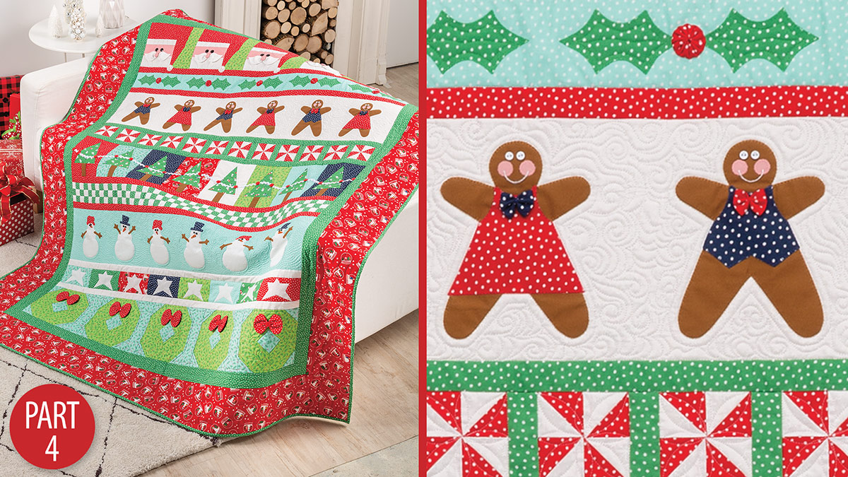 Quilter's Skill Builders: Very Merry Christmas Quiltalong: Part 4