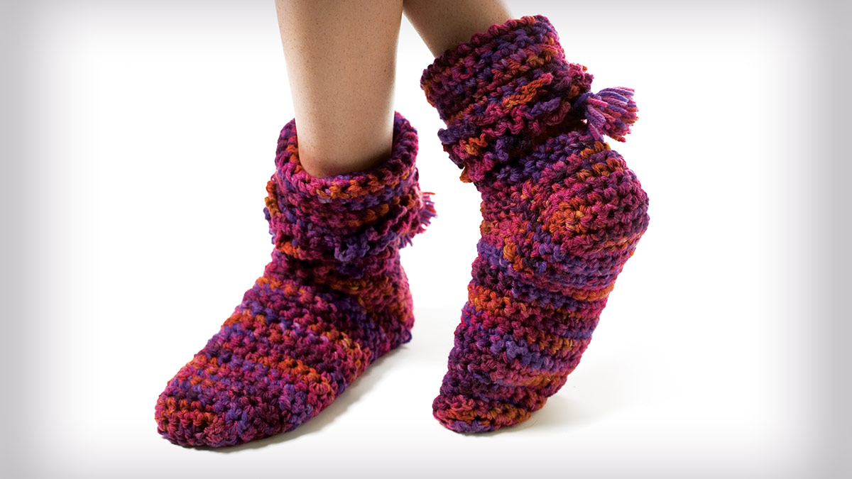 Learn, Make, Create!: Fancy Foot Warmers