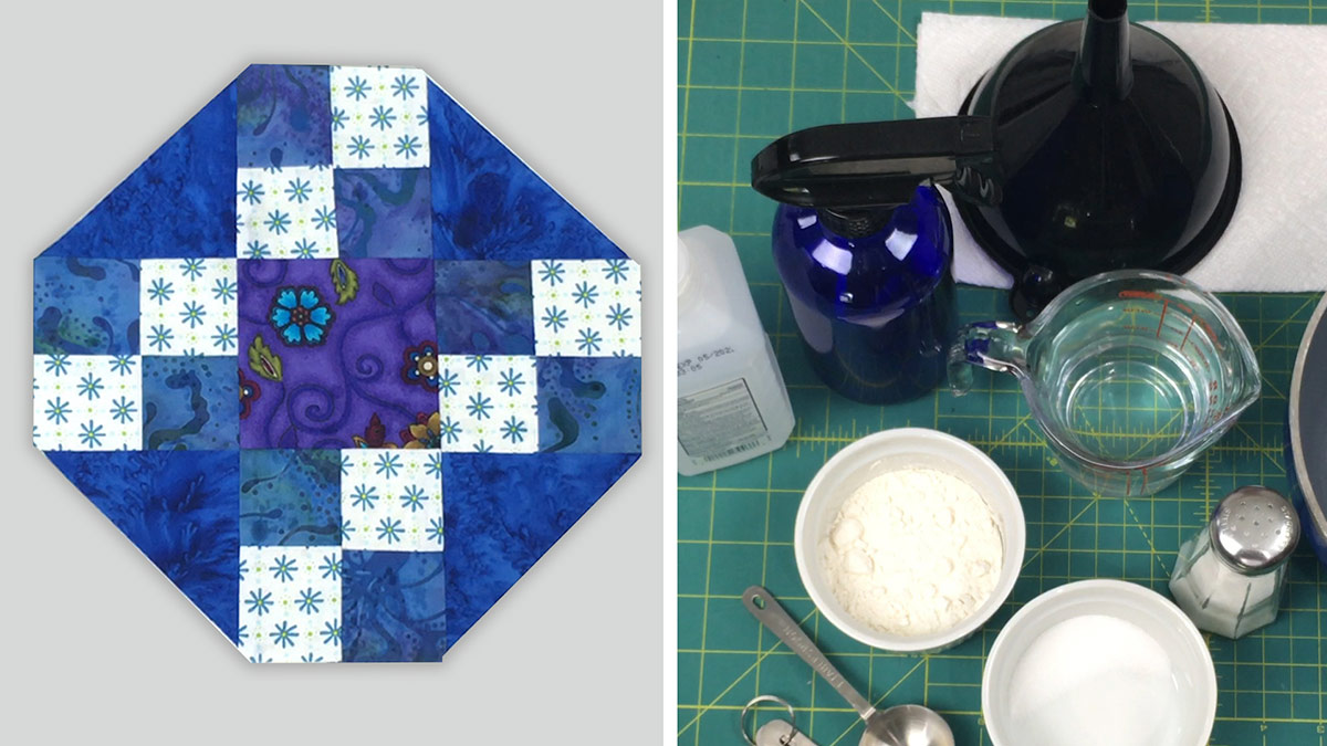 Quilt & Sew Tips: How to Make Homemade Basting Spray