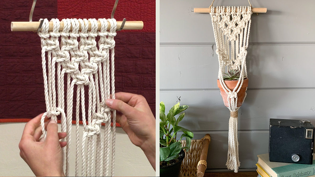 Creative Living: Get Started on Macramé