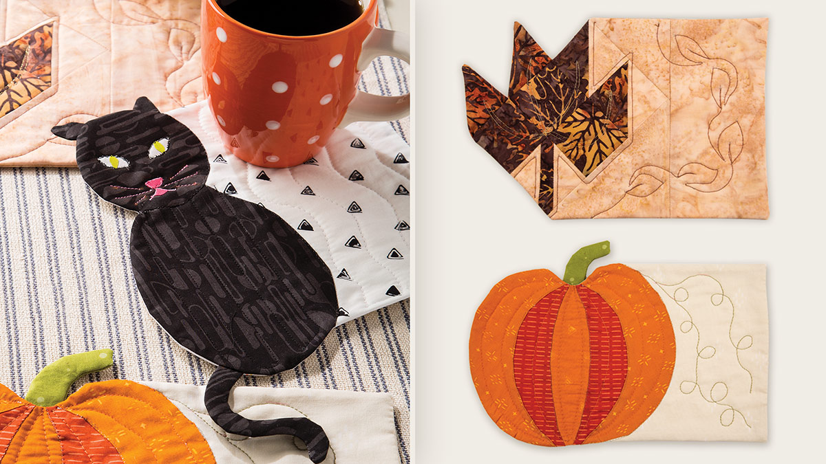 Learn, Make, Create!: Autumn Mug Rugs