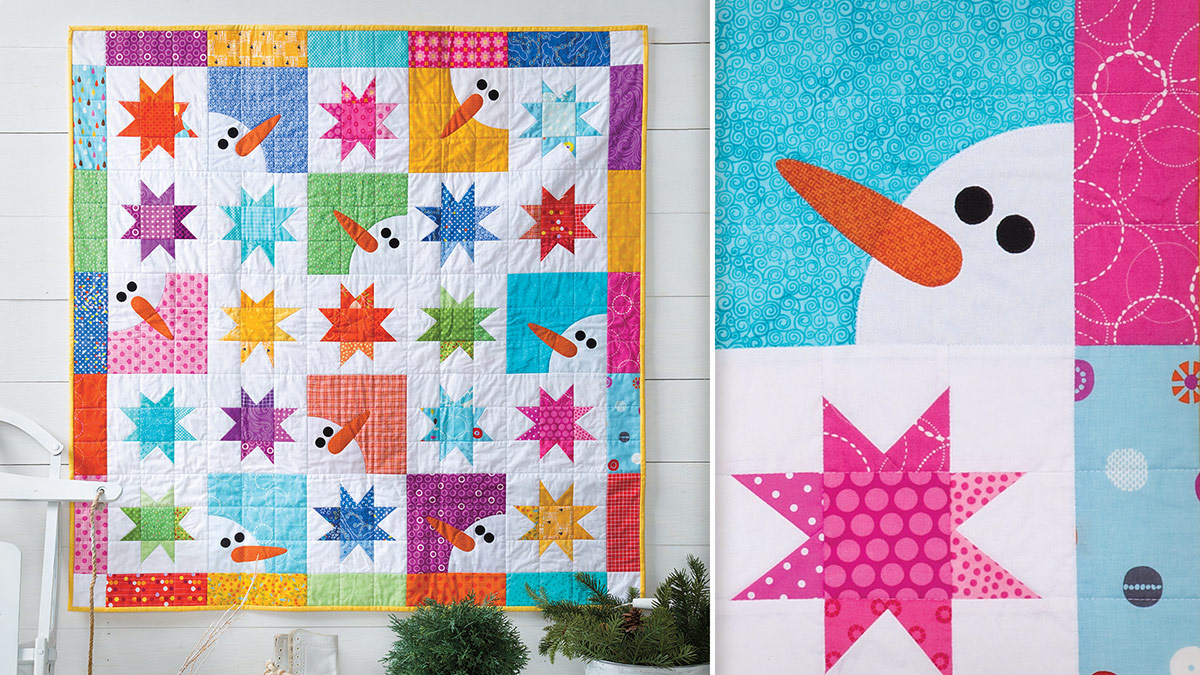 Learn, Make, Create!: Winter Wishes Wall Quilt
