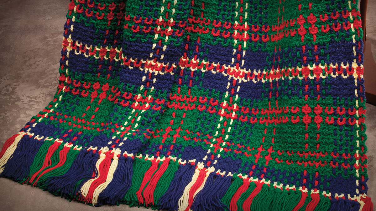 Learn, Make, Create!: U.S. Marine Corps Tartan Afghan