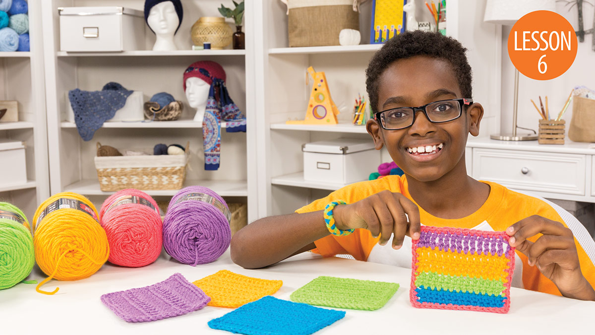 Quick Stitches & Tips: Learn to Crochet With Jonah: Lesson 6