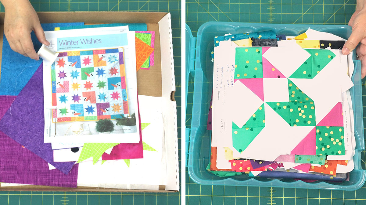 Quilt & Sew Tips: How to Store WIPs