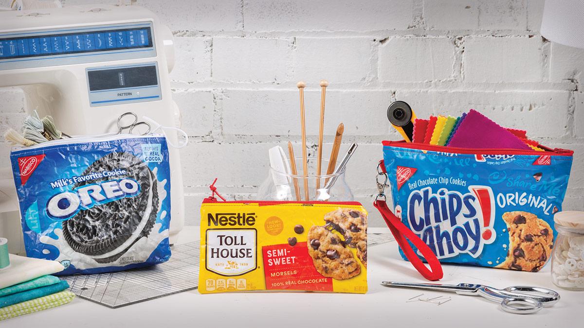 Learn, Make, Create!: Snack Zip Pouches à la Mode