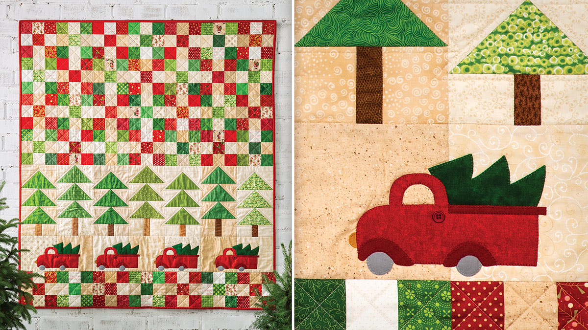 Learn, Make, Create!: Tree Time Throw Quilt