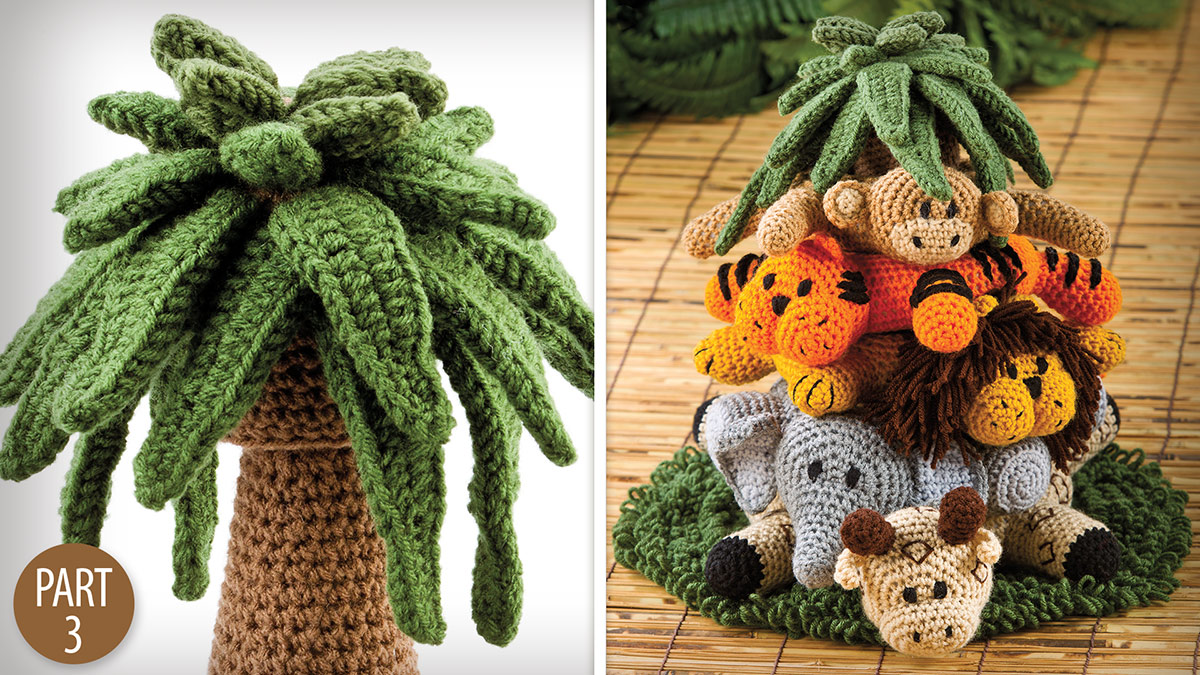 Crochet Skill Builders: Into the Jungle: Treetop Part 3