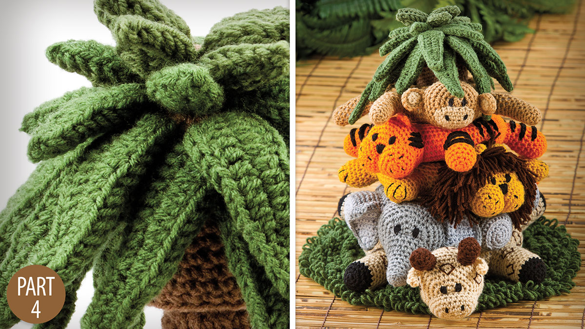 Crochet Skill Builders: Into the Jungle: Leaves Part 4