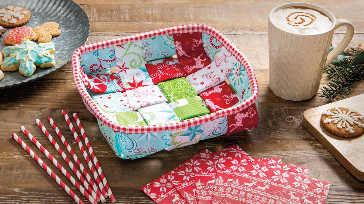 Learn, Make, Create!: Nifty Napkin Basket
