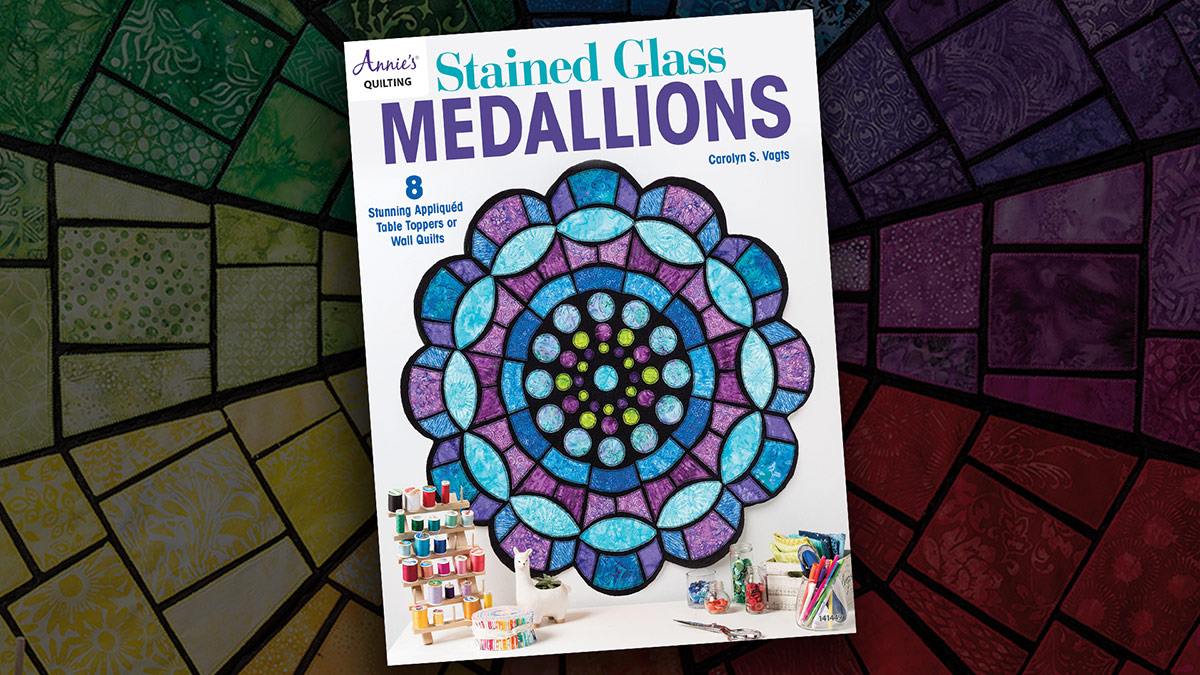 Stained Glass Medallions Book Review video