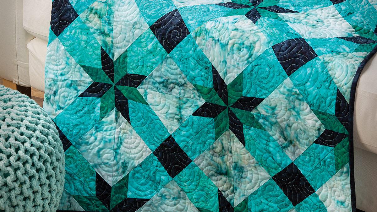 Learn, Make, Create!: Van Gogh's Night Quilt