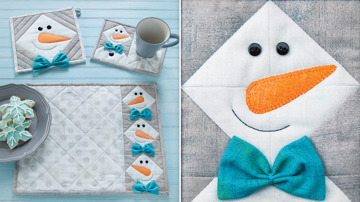 Learn, Make, Create!: Snowy Days Table Set