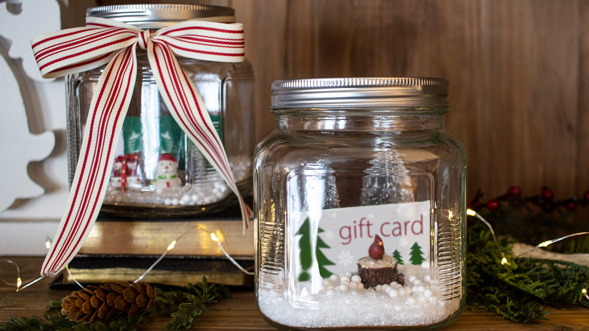 Gift Card Snow Globe video
