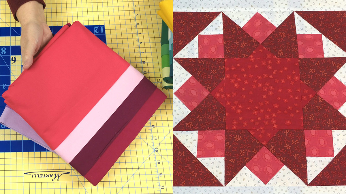 Quilt & Sew Tips: How to Balance Fabric Colors