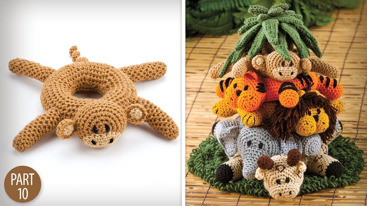 Crochet Skill Builders: Into the Jungle: Monkey Part 10