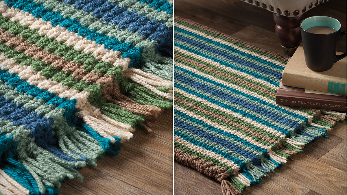 Learn, Make, Create!: Cushy Corrugated Rug