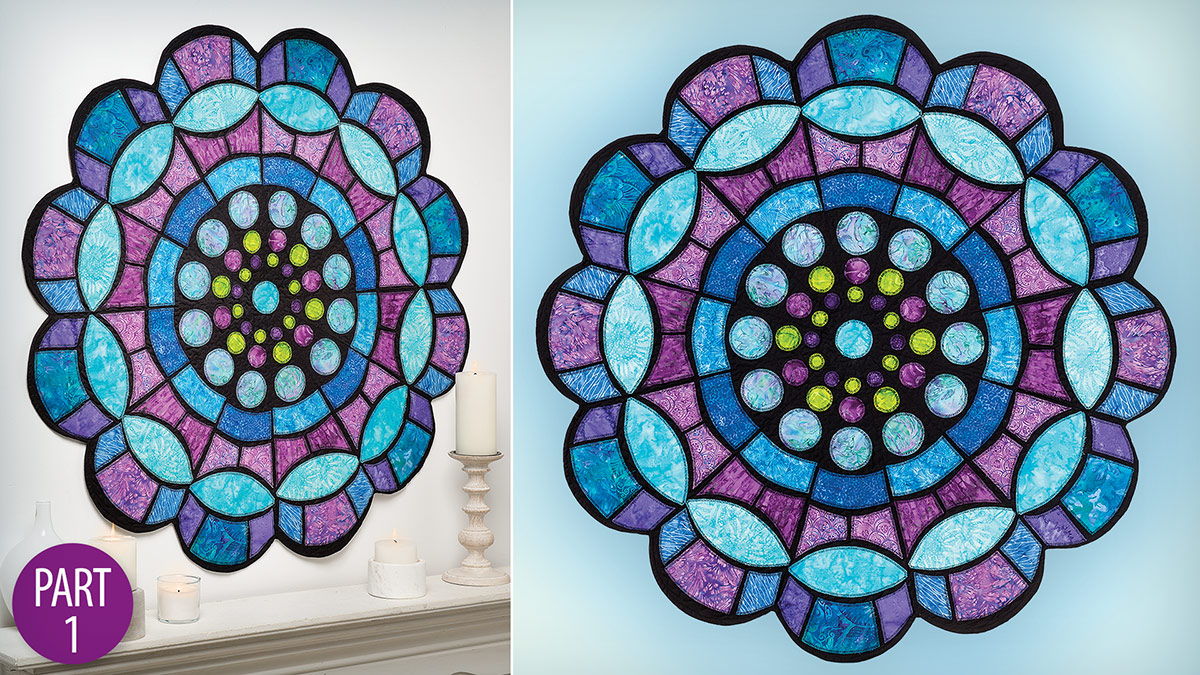 Quilter's Skill Builders: Church Window Medallion Quilt Part 1