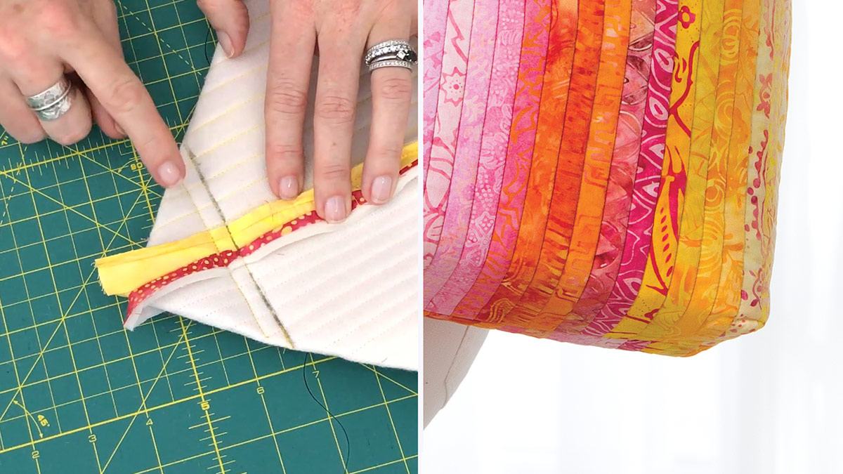 Quilt & Sew Tips: How to Sew Boxed Corners