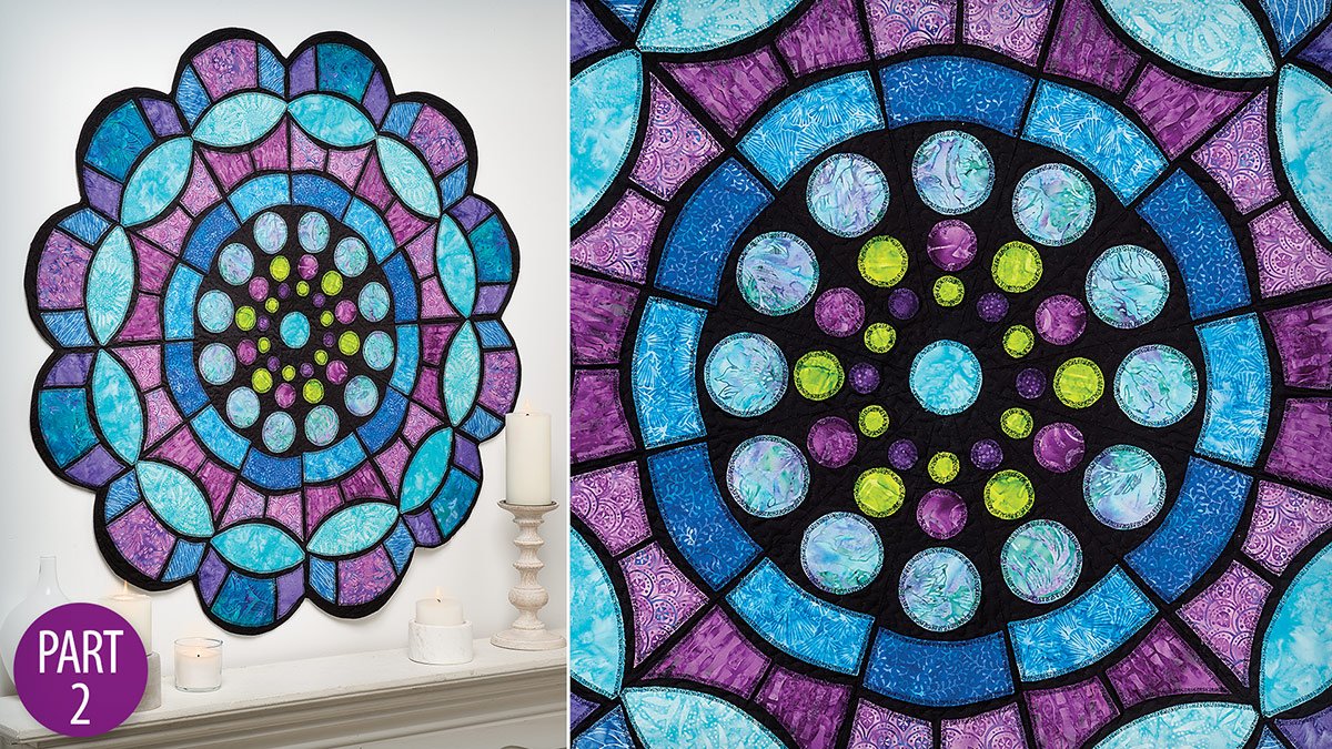 Quilter's Skill Builders: Church Window Medallion Quilt Part 2