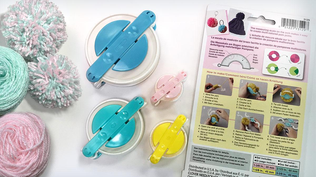 Products We Love: Pom-Pom Maker Set