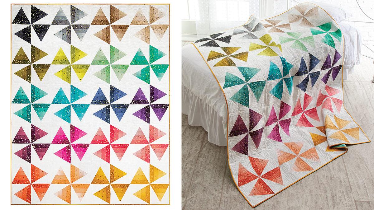 Learn, Make, Create!: Summer Pinwheels Quilt