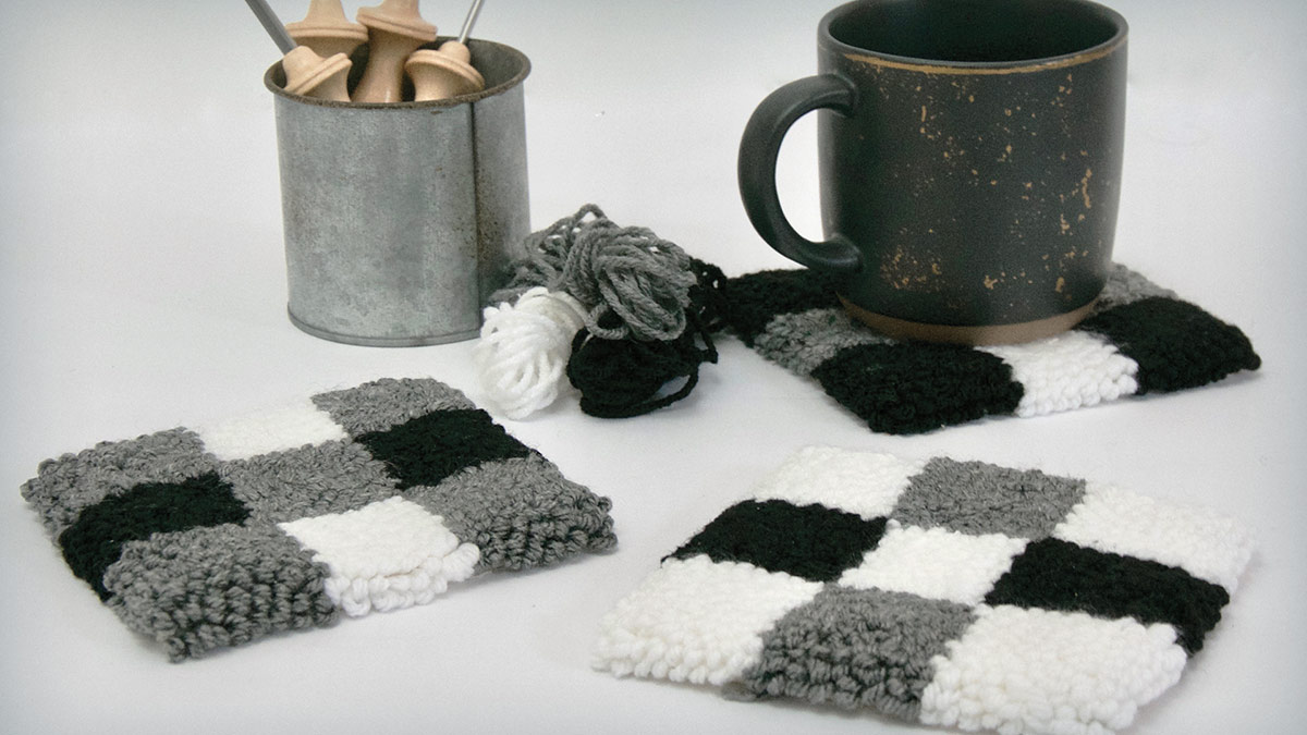 Learn, Make, Create!: Nine-Patch Farmhouse Coasters