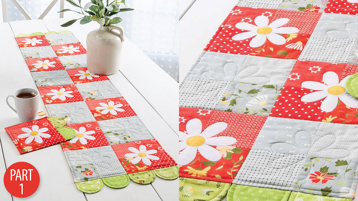 Daisy Fields Table Set Part 1 video