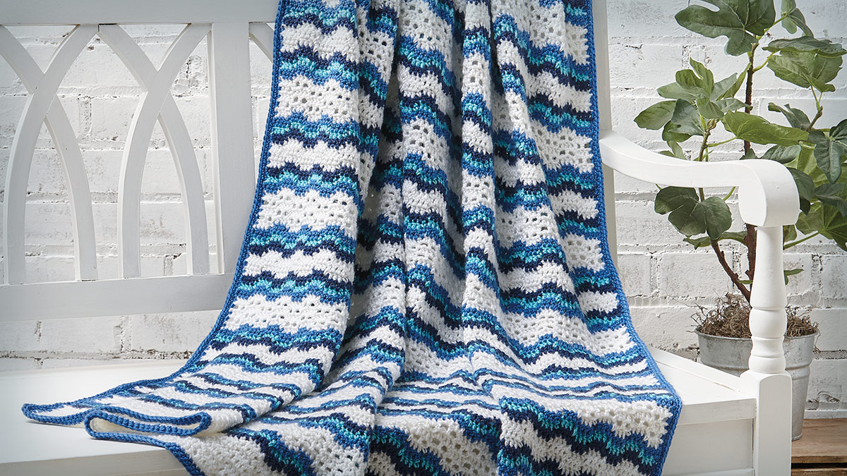 Learn, Make, Create!: Summer Breeze Throw