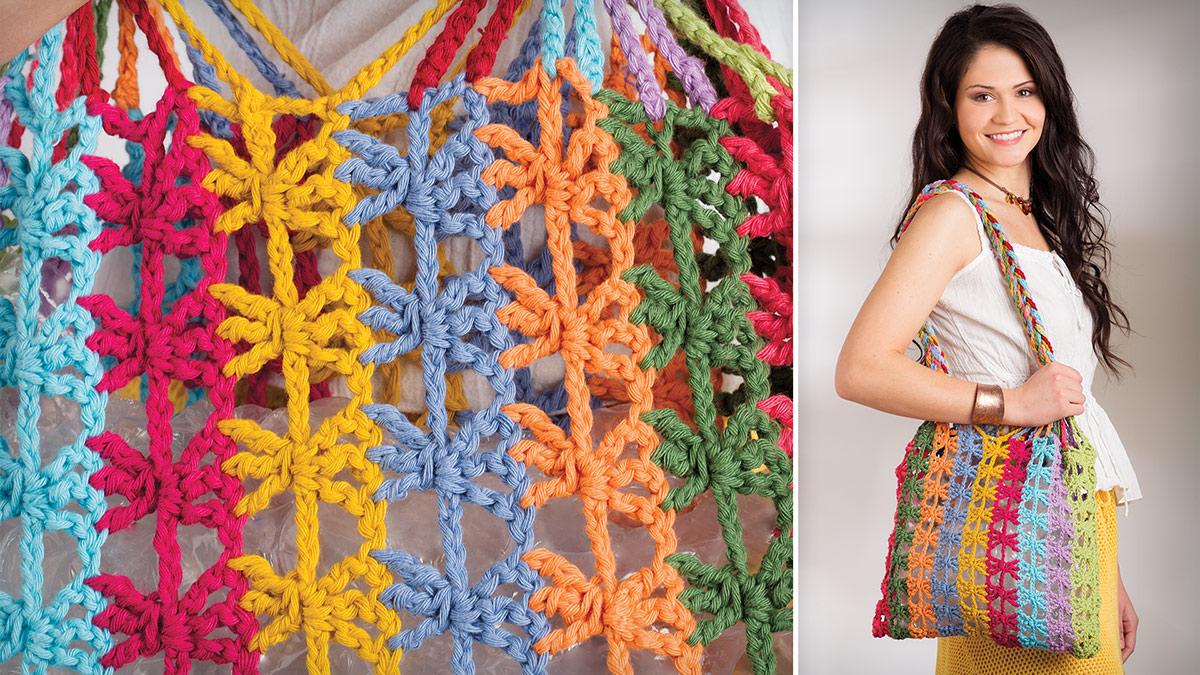 Learn, Make, Create!: Urban Rainbow Tote