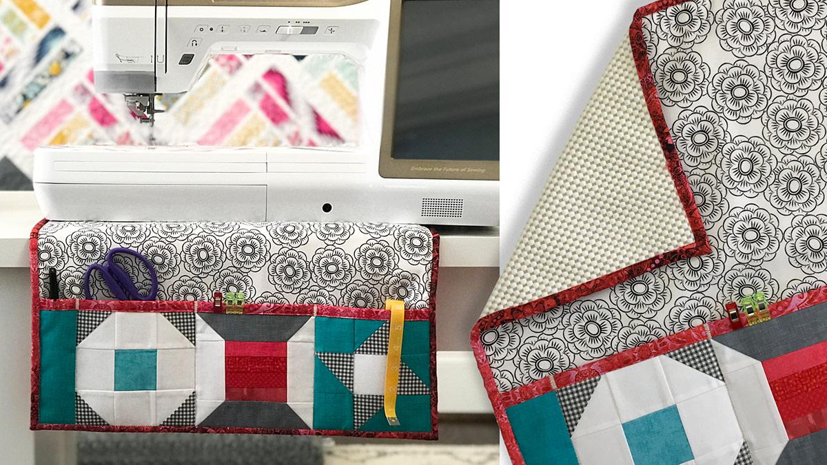 Learn, Make, Create!: Sewing Machine Mat