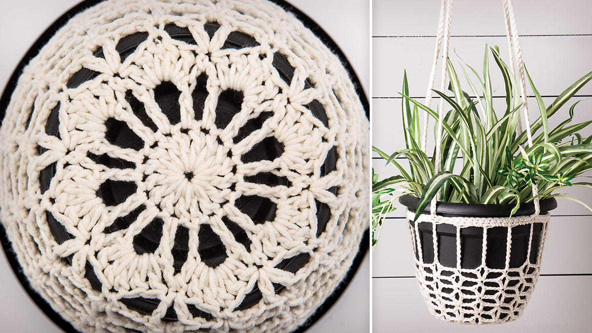 Learn, Make, Create!: Potted Plant Hanger
