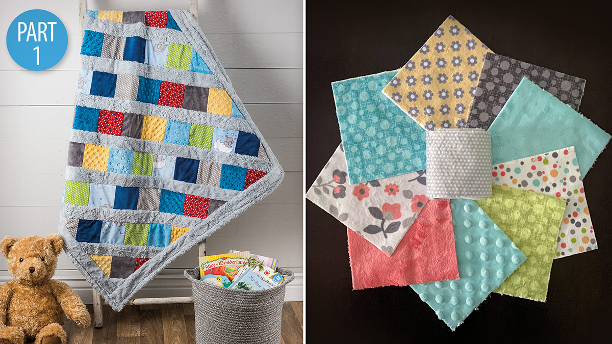 Quilting With Minky Part 1 video