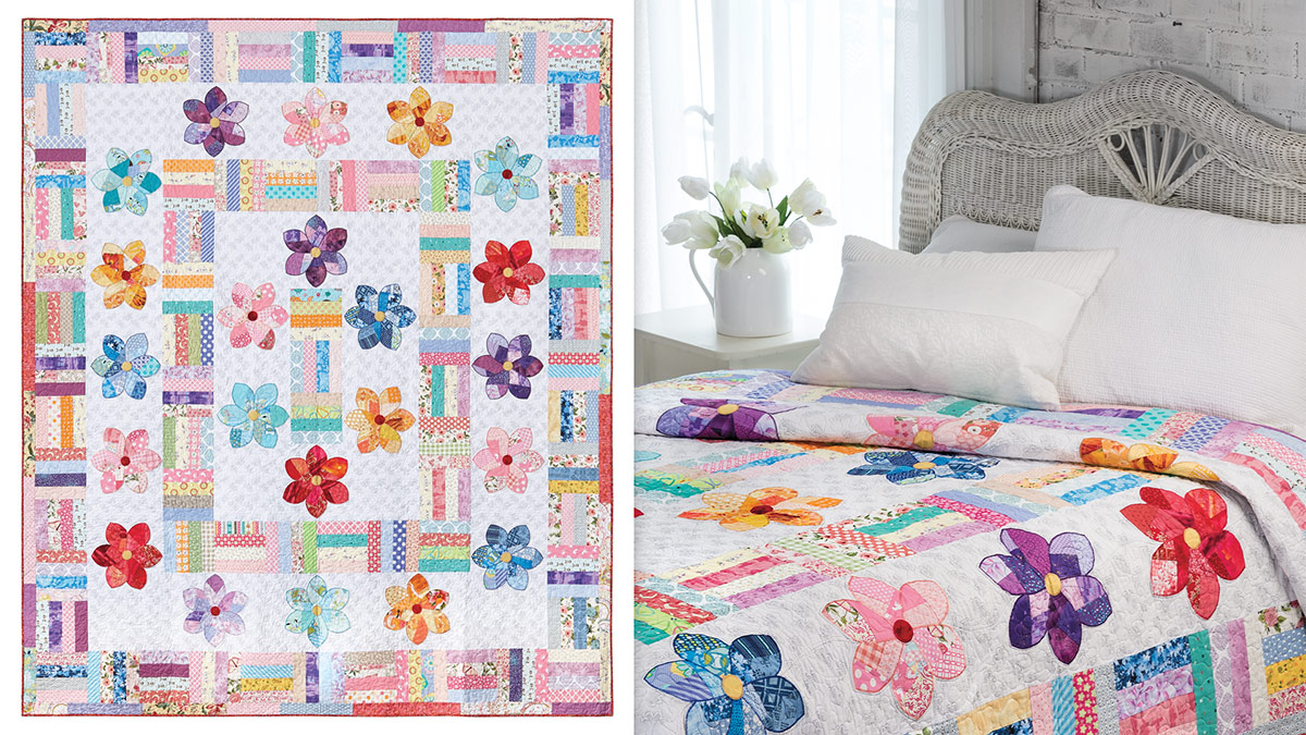 Learn, Make, Create!: Crazy Daisy Quilt