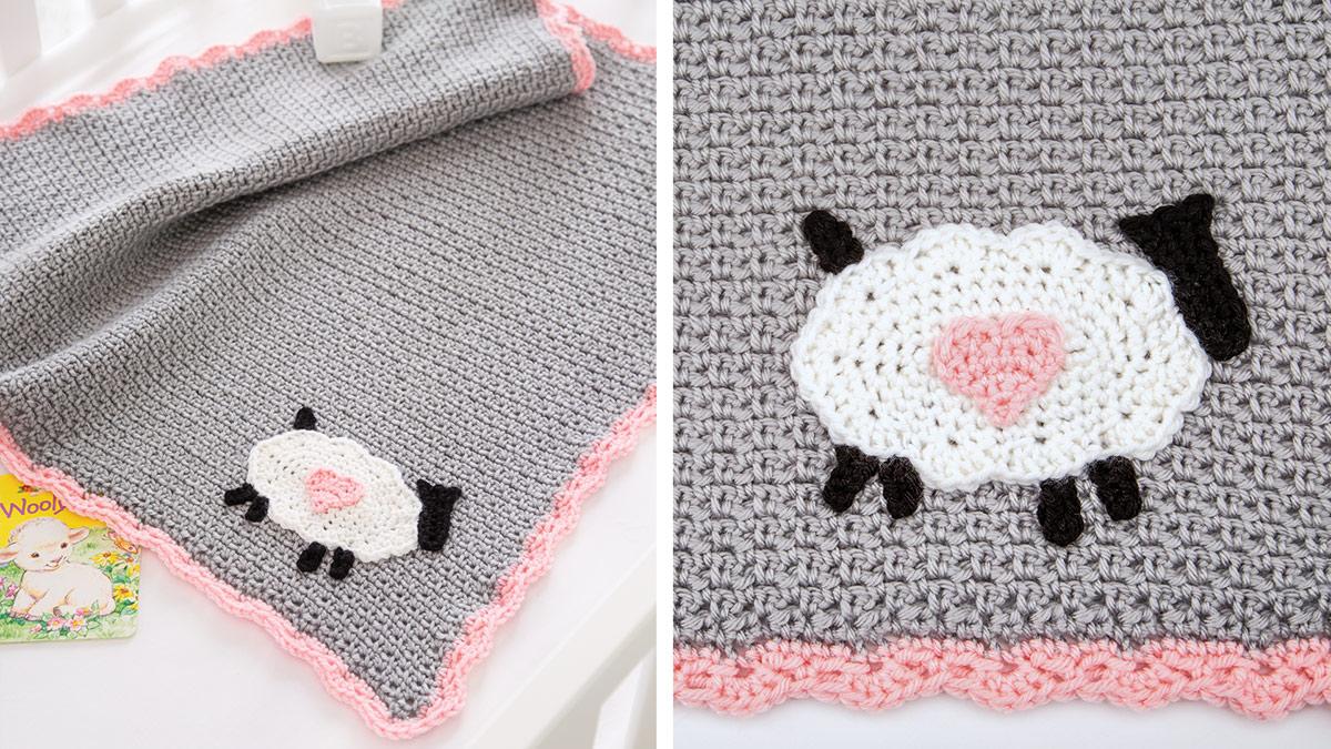 Learn, Make, Create!: Little Lamb Baby Blanket