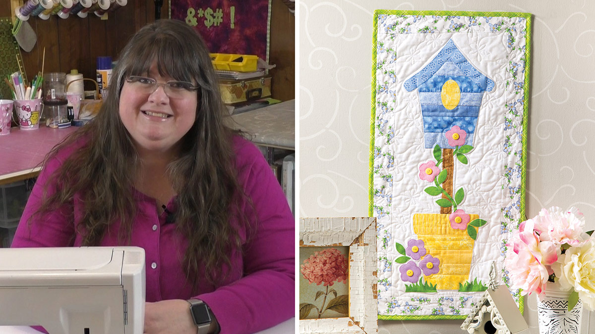 Learn, Make, Create!: Birdhouse Quilted Skinny