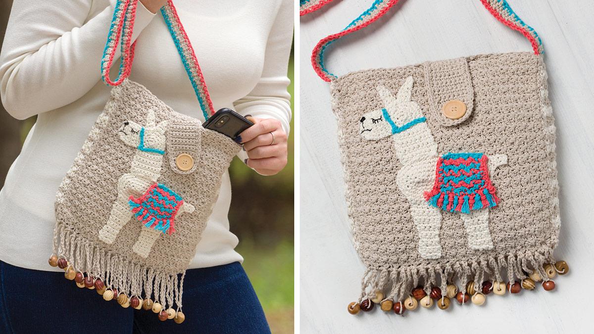 Learn, Make, Create!: Llama Bag