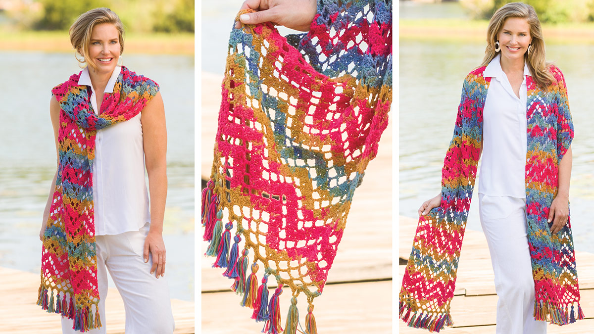 Learn, Make, Create!: Zigzag Shawl